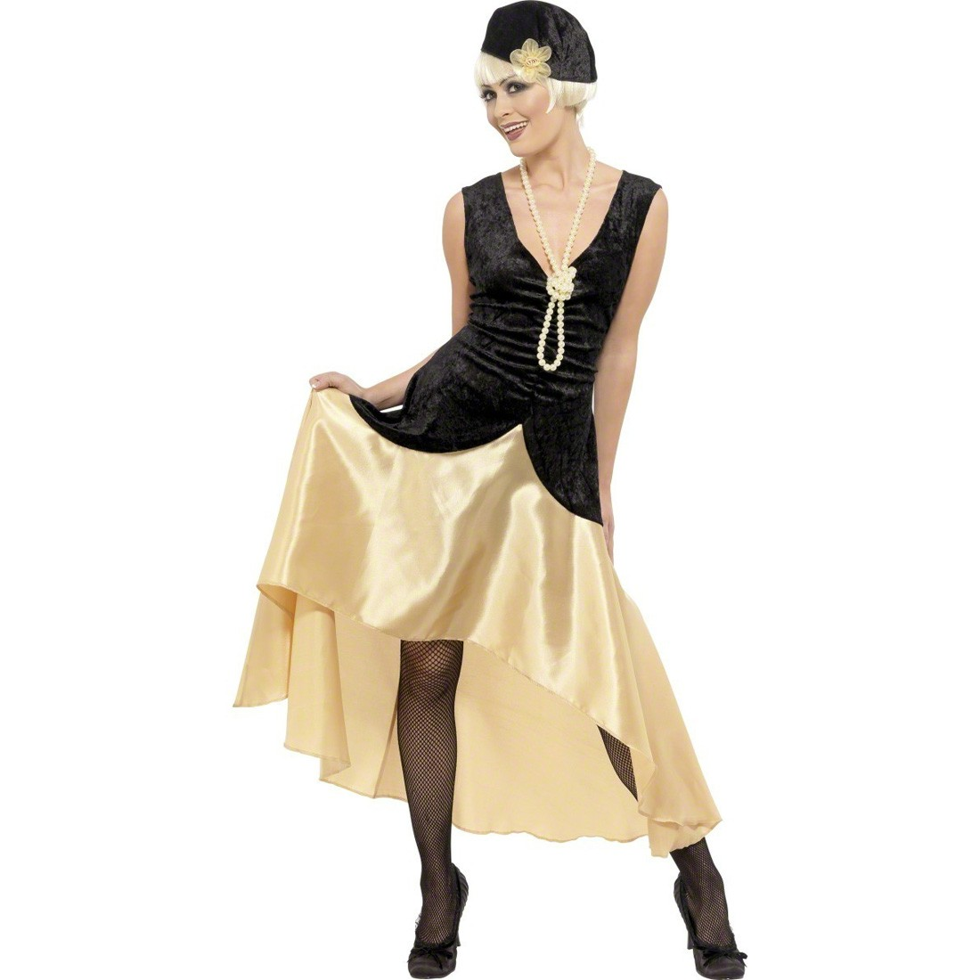 Farbe: schwarz: Herz Strumpfband Burlesque Strapsband schwarz ...