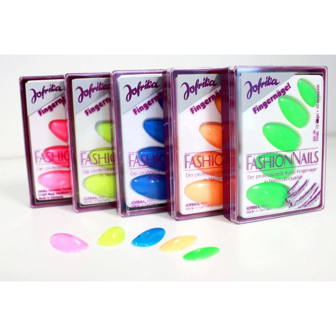 80er Jahre Fingernägel Neon Nägel Neonfarbene Kunstnägel Party ...