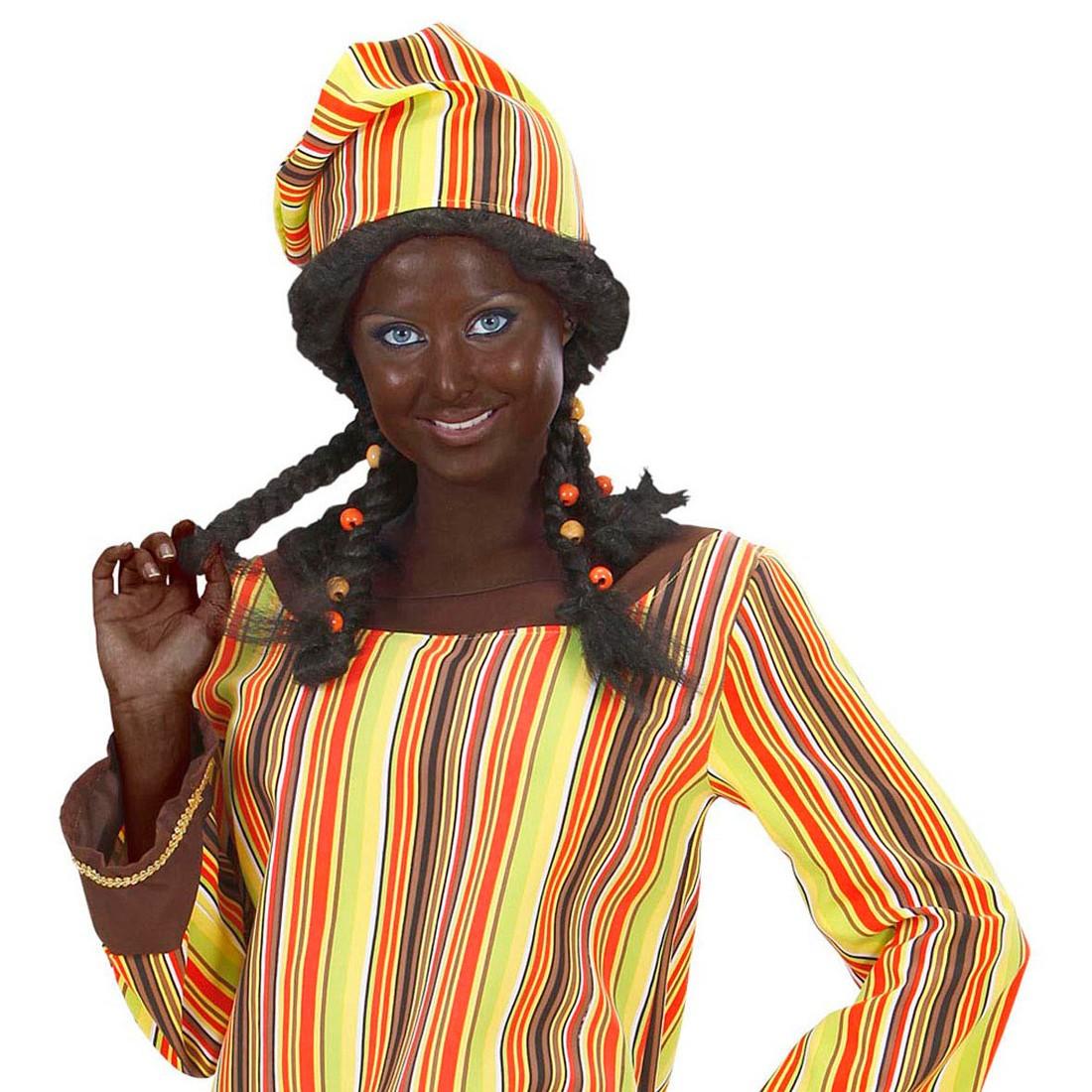 afrikaner schminke karneval make up braun theaterschminke. Black Bedroom Furniture Sets. Home Design Ideas
