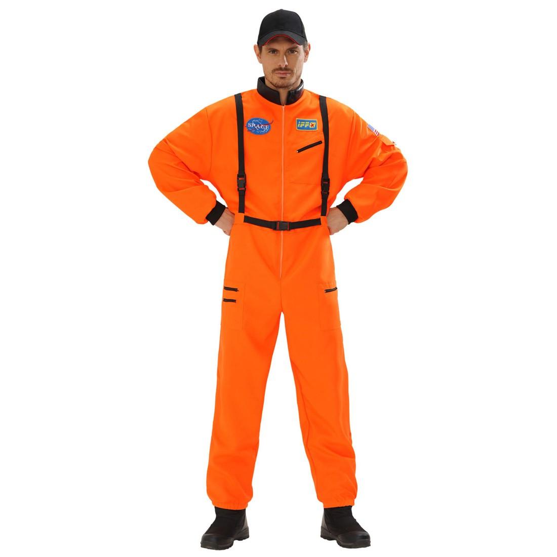 astronautenanzug astronauten kost m orange space. Black Bedroom Furniture Sets. Home Design Ideas