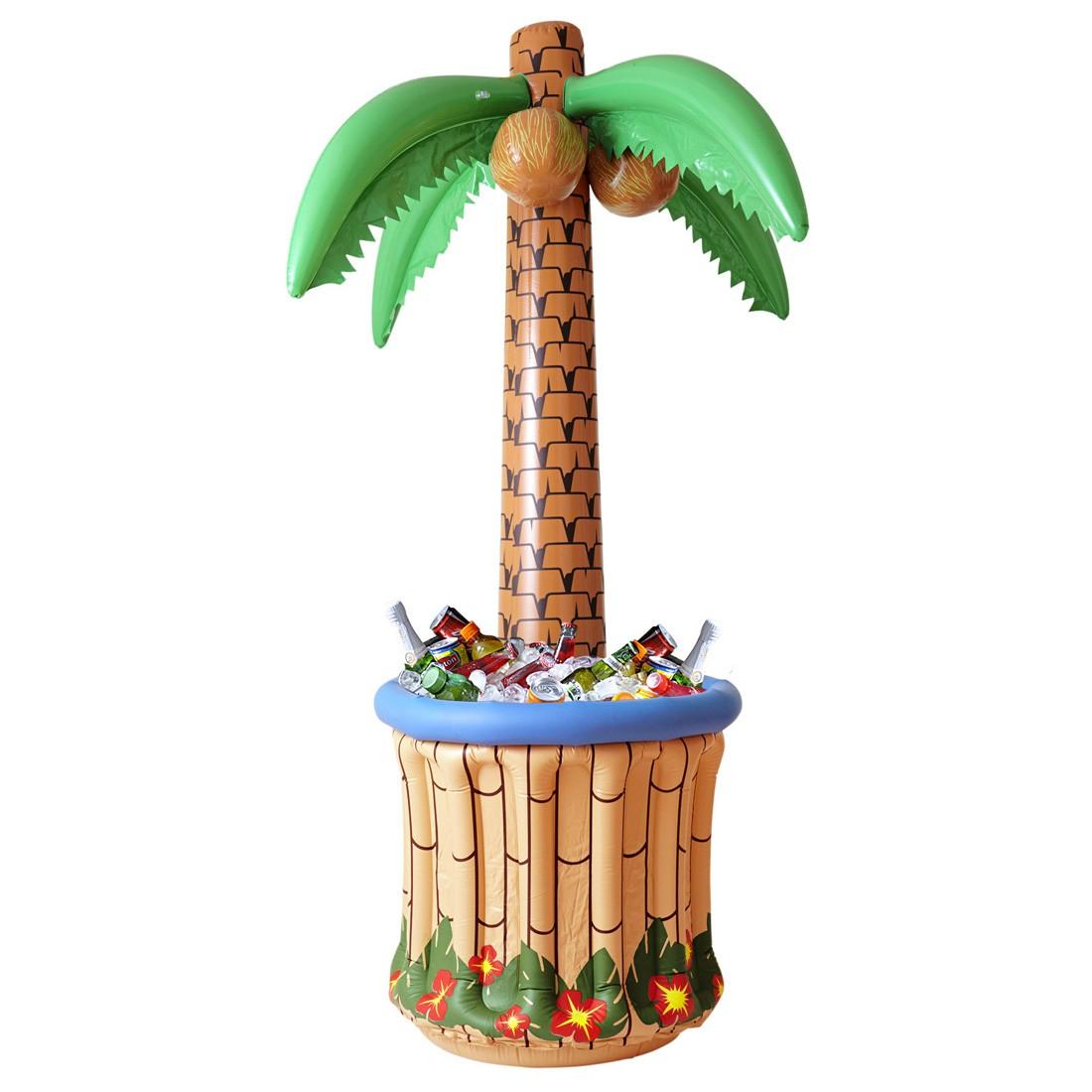 aufblasbare palme mit getr nkek hler partypalme 182 cm palmeninsel fun palme flaschenk hler. Black Bedroom Furniture Sets. Home Design Ideas