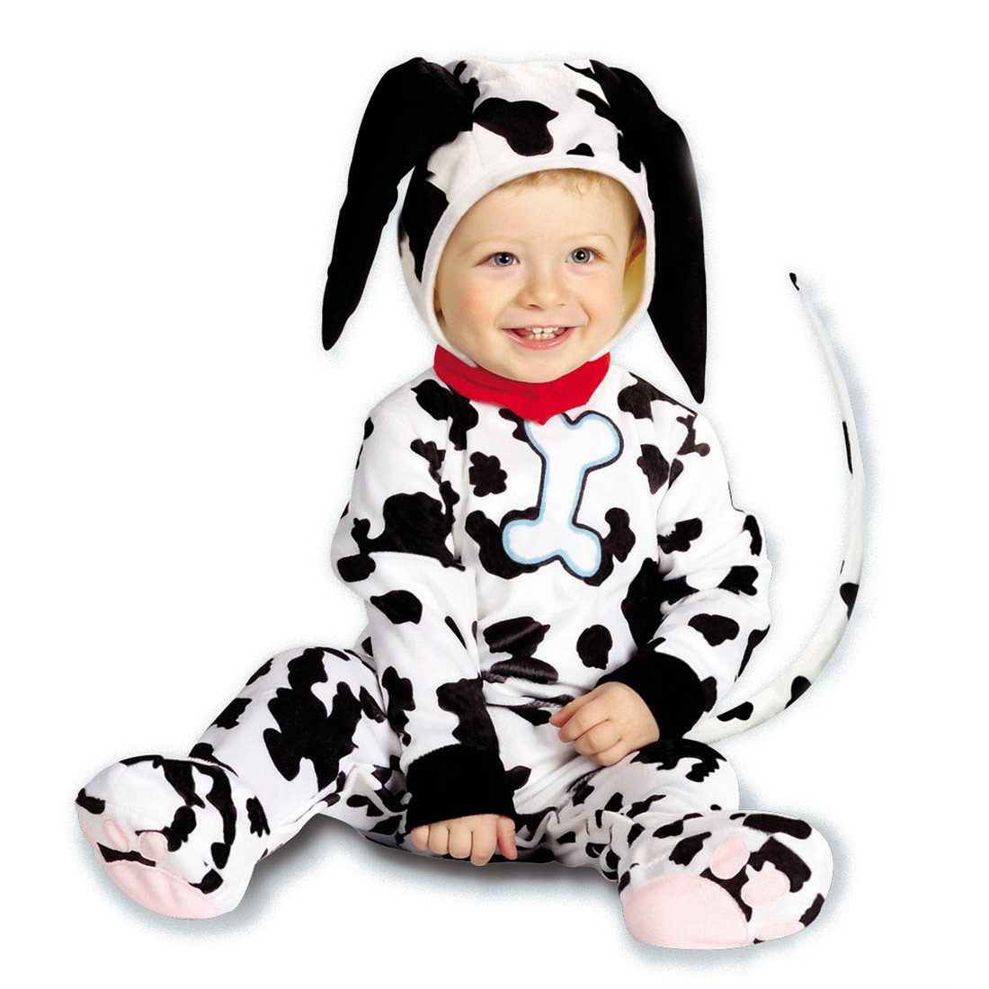 baby dalmatiner kost m hundekost m schwarz wei 90 cm 22 99. Black Bedroom Furniture Sets. Home Design Ideas