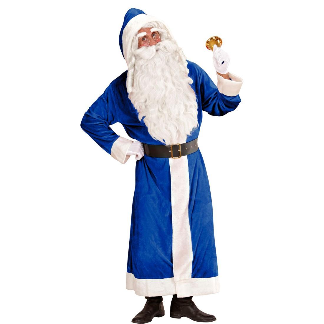 blaues weihnachtsmann kost m nikolaus mantel xl 33 95. Black Bedroom Furniture Sets. Home Design Ideas