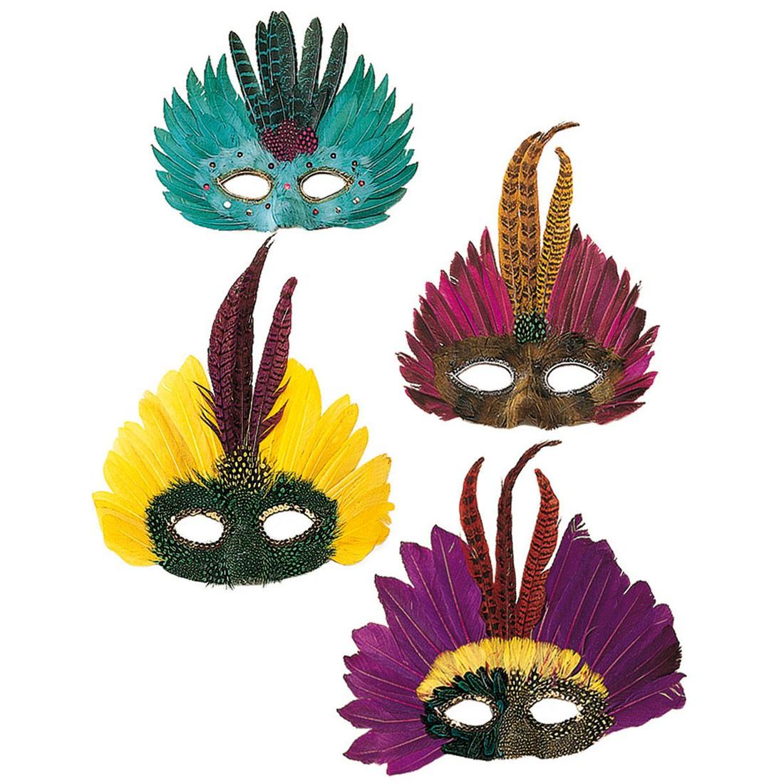 brasilien karneval maske venezianische federmaske colombina karnevalsmaske rio 5 99. Black Bedroom Furniture Sets. Home Design Ideas