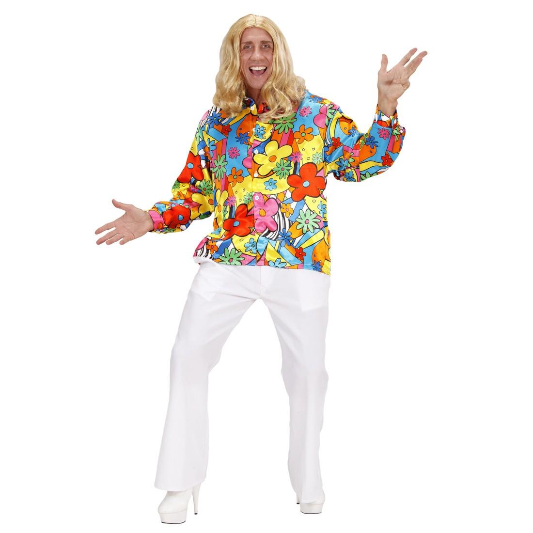 farbenfrohes hippi hemd