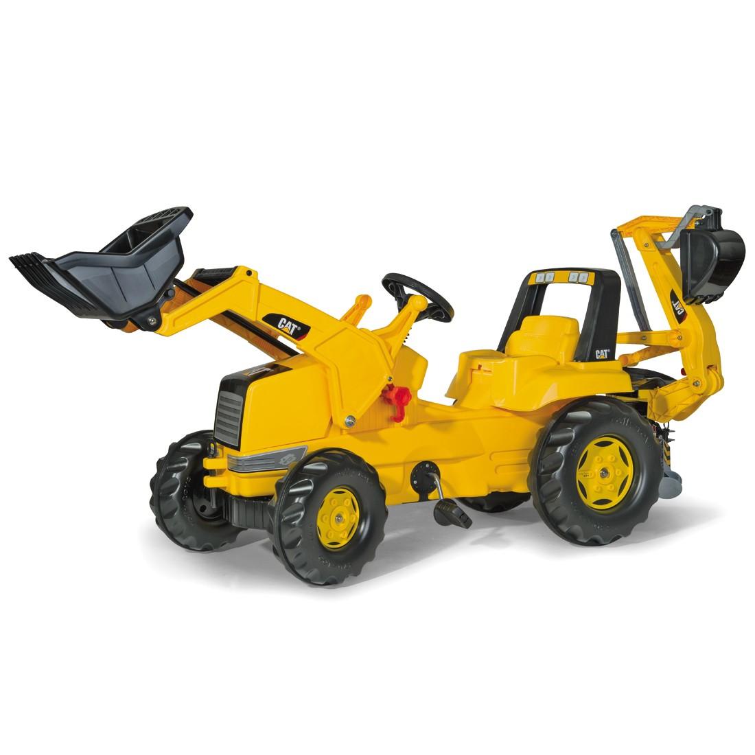 cat rolly toys kinder bagger mit lader, 196,99