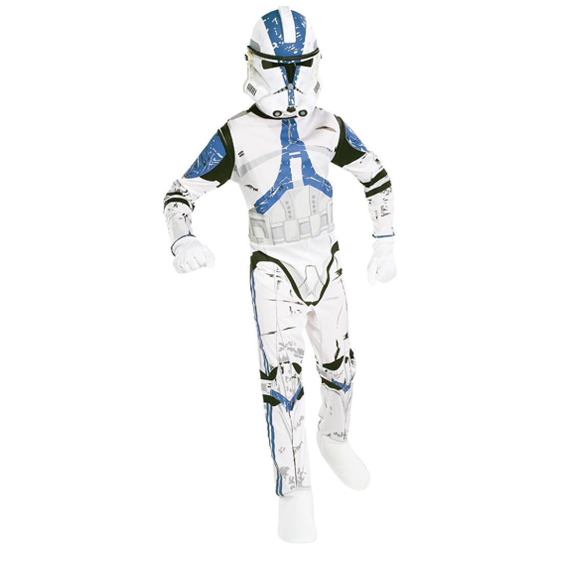 clonetrooper star wars kostum kinder karneval gr m 5 7j