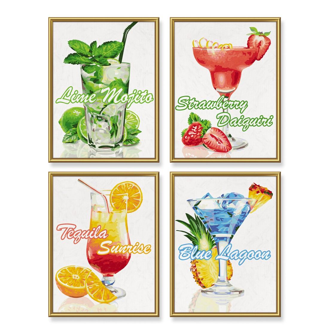 cocktails schipper 18x24 cm malen nach zahlen quattro