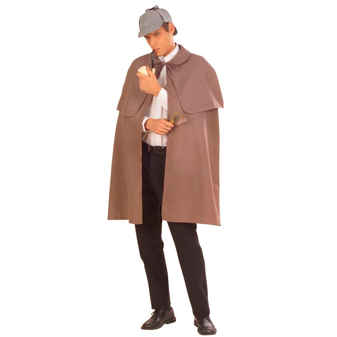 sherlock holmes kost m detektiv umhang agenten mantel 23 99. Black Bedroom Furniture Sets. Home Design Ideas
