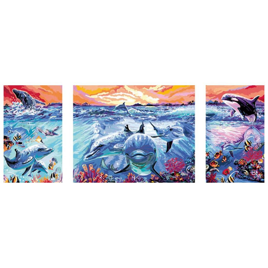 Farbenfrohe Unterwasserwelt - Malen nach Zahlen, 41,99 €