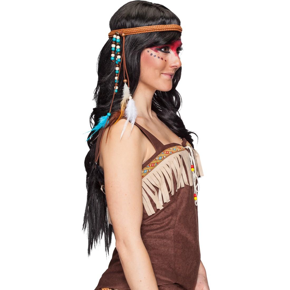 feder stirnband indianer kopfschmuck 7 99. Black Bedroom Furniture Sets. Home Design Ideas