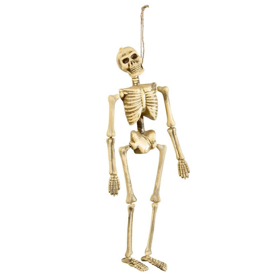Hängendes Deko Skelett Knochenskelett Gerippe 40 cm, 5,49 €