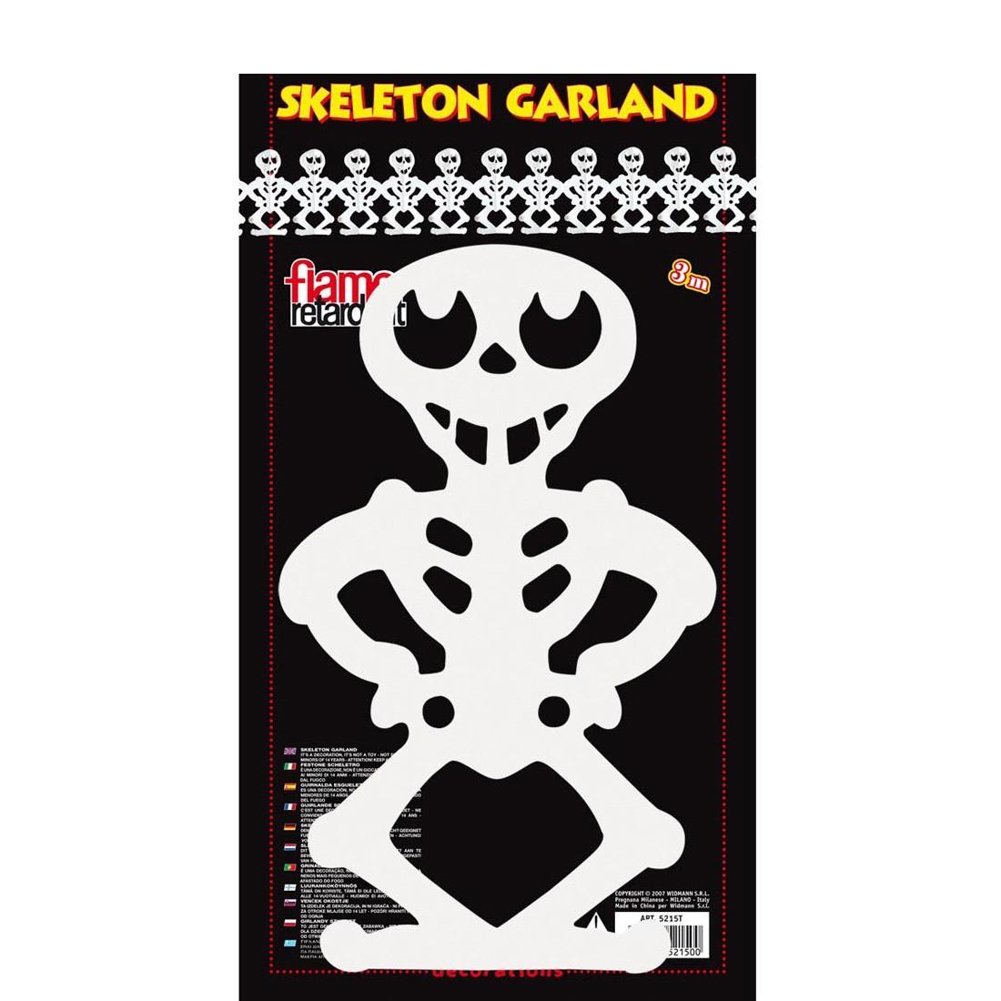 Halloween girlande skelette deko girlanden 3 99 - Halloween girlande ...