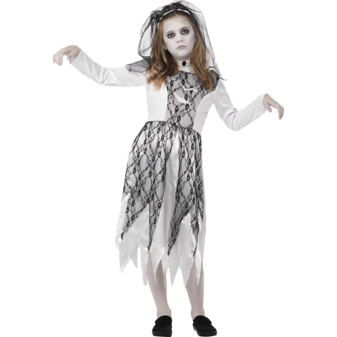 halloween kostüm braut geisterbraut kinderkostüm, 24,99 ¬