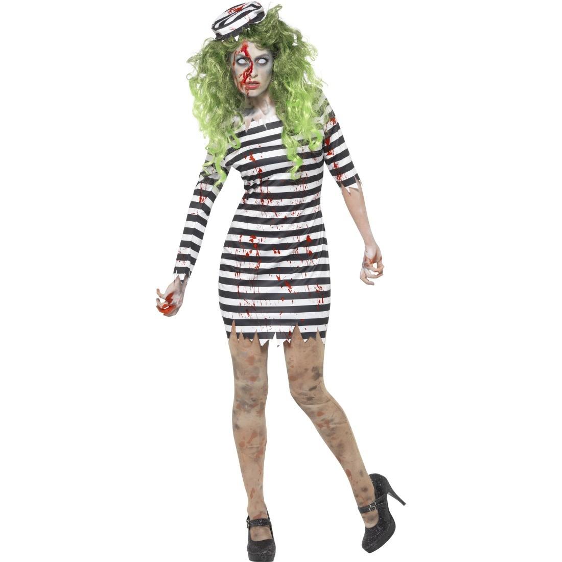 halloween kostüm zombie sträflingskostüm damen, 22,95 ¬
