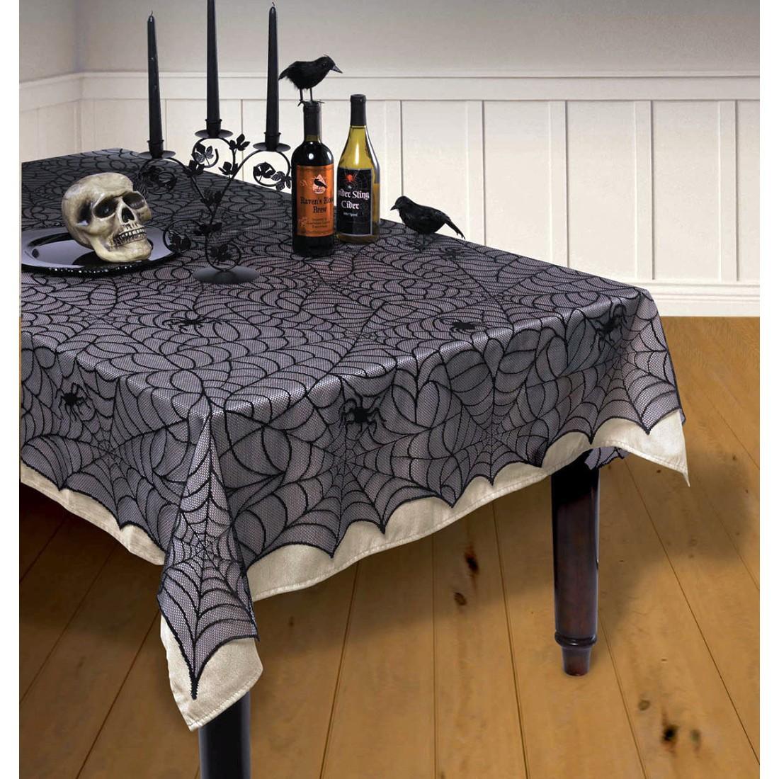 Halloween Tischdecke Tischdeko Lumpengewebe Lumpen Dekotuch Deko Dekoration