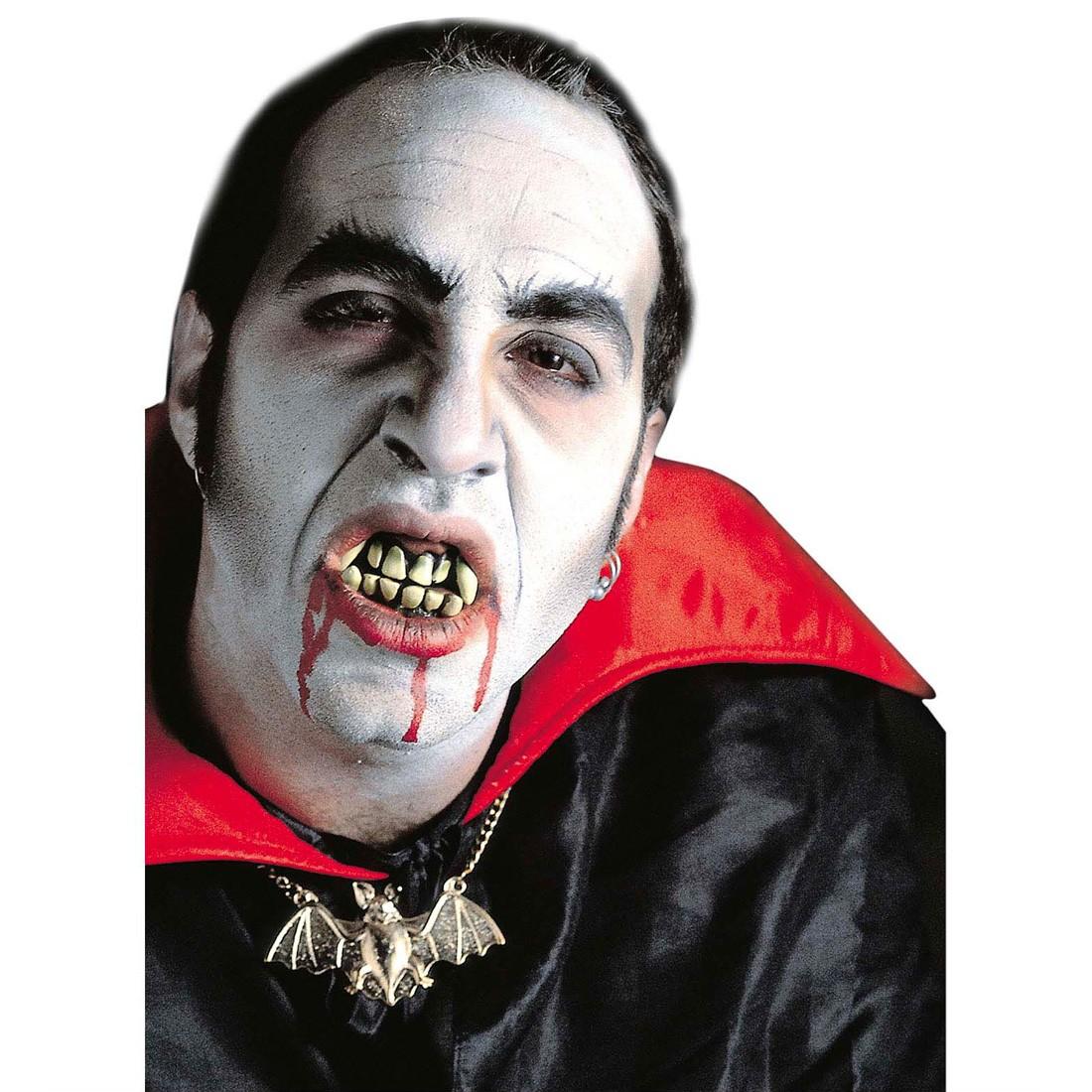 halloween vampirz hne vampir gebiss z hne 3 95. Black Bedroom Furniture Sets. Home Design Ideas