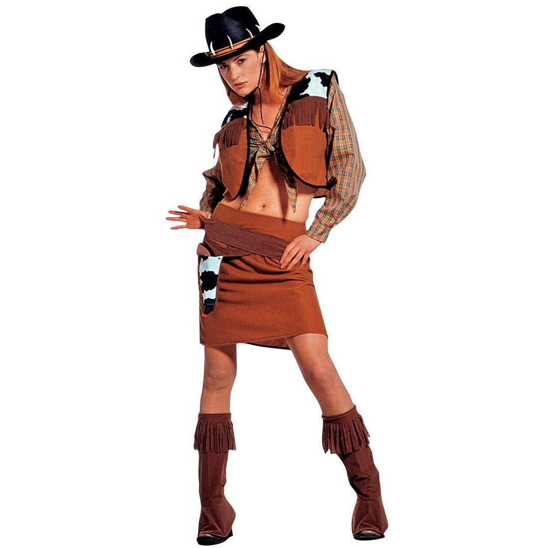 karneval kost m cowgirl western westernkost m 29 99. Black Bedroom Furniture Sets. Home Design Ideas