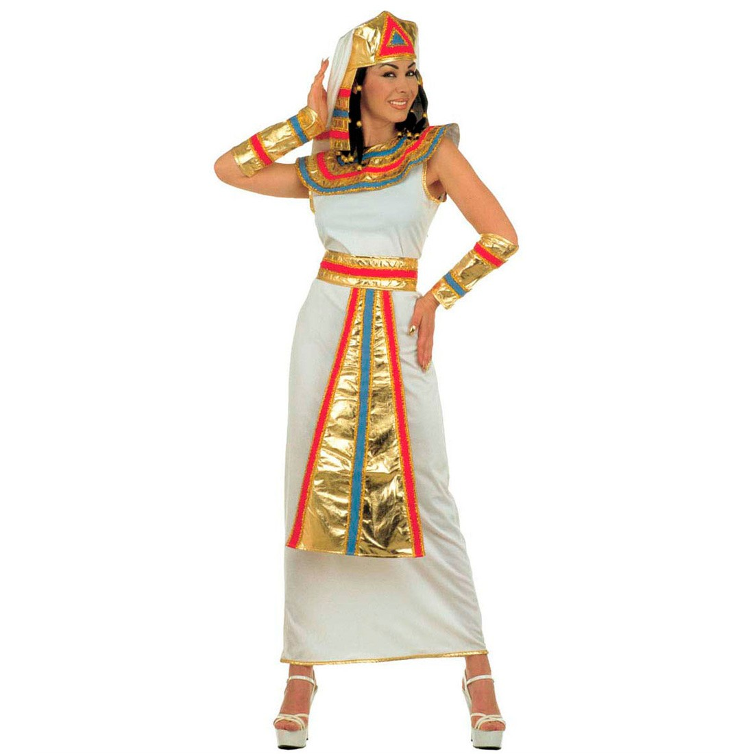 karnevalskost me cleopatra kost m kleopatra l 42 44 29 99. Black Bedroom Furniture Sets. Home Design Ideas