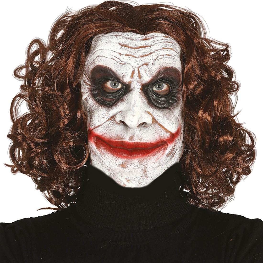 Killerclown Joker Maske Horrormaske Boser Clown 12 49