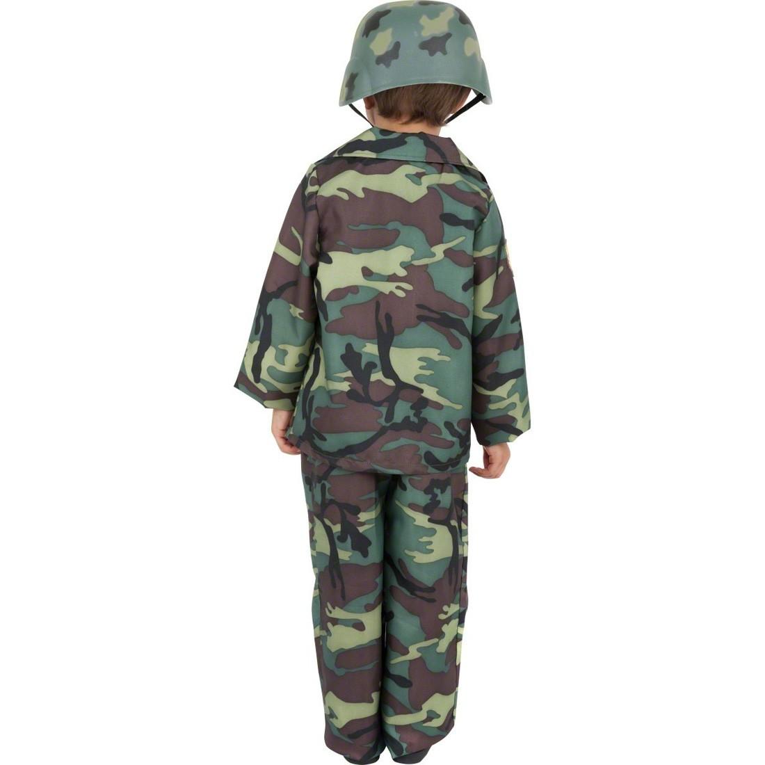 militär kinder kostüm