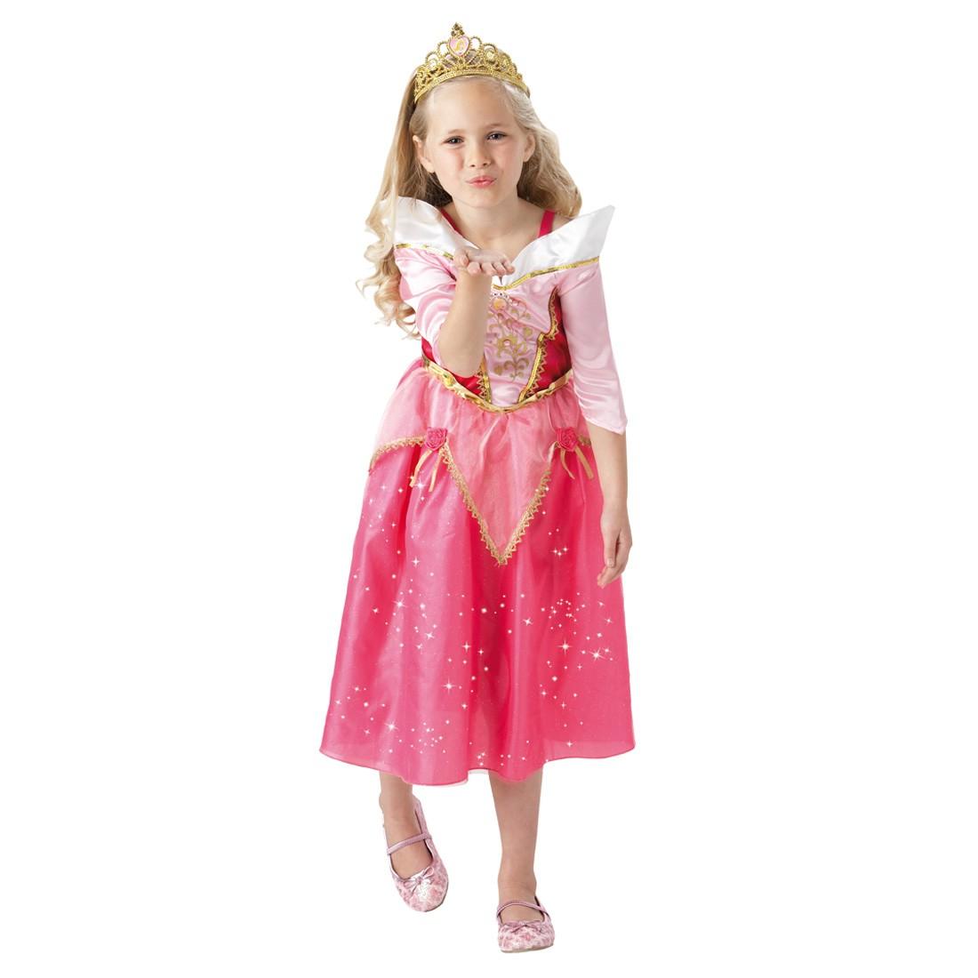 Kinder Dornroschenkostum Prinzessin Kostum Pink L 7 9 Jahre 29 95