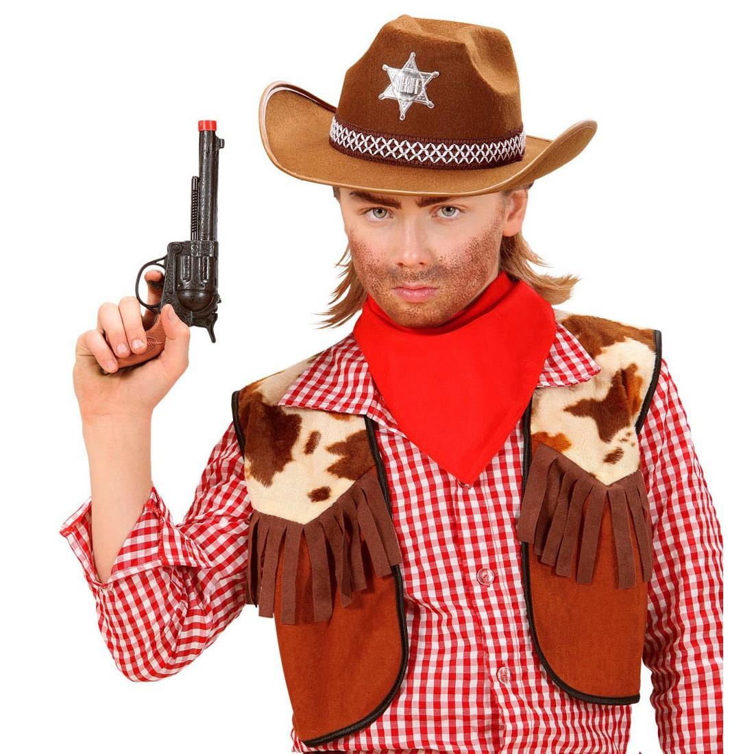 Kinder Sheriff Hut In Braun Cowboyhut 6 99