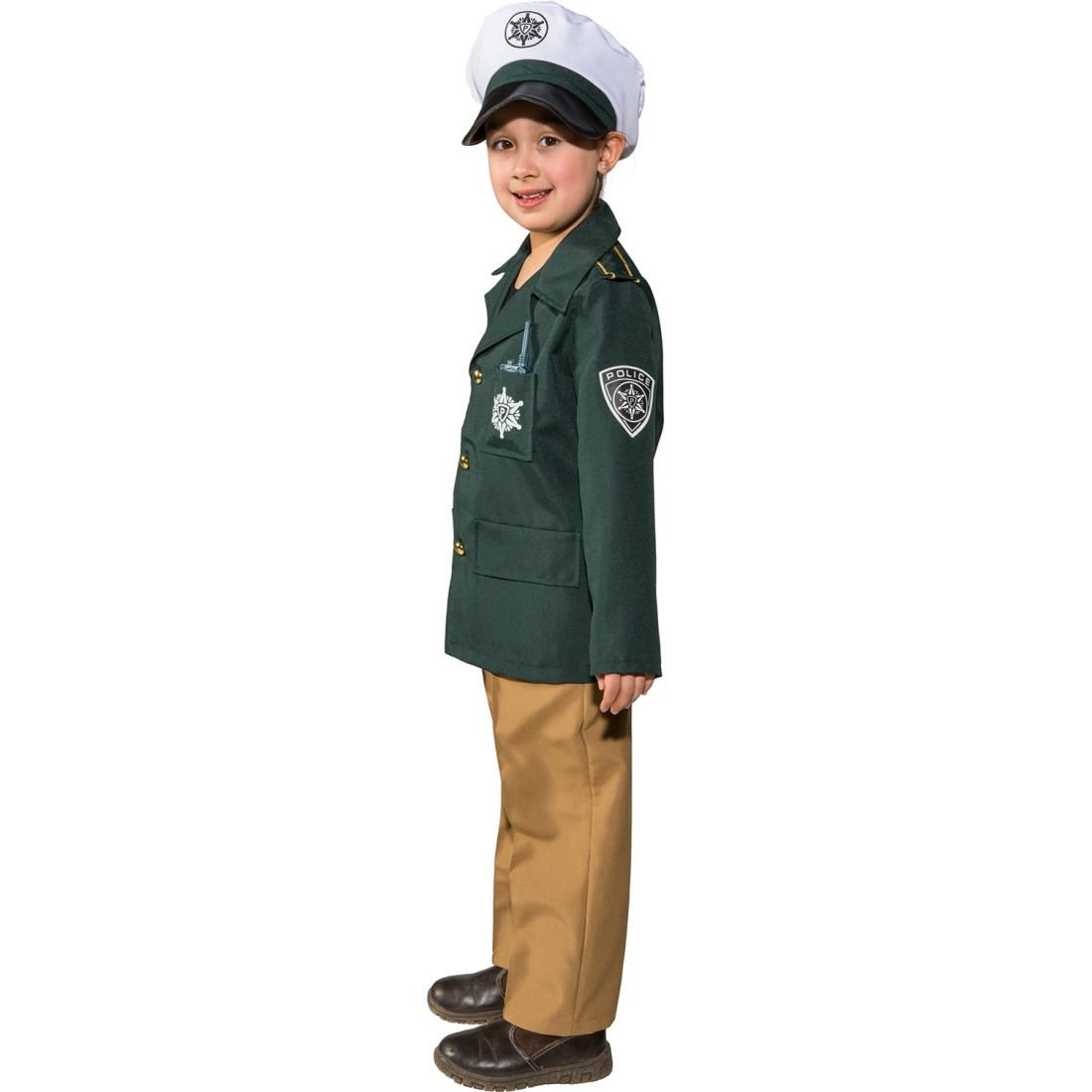kinderkostüm polizei  polizisten kostüm für kinder 1749