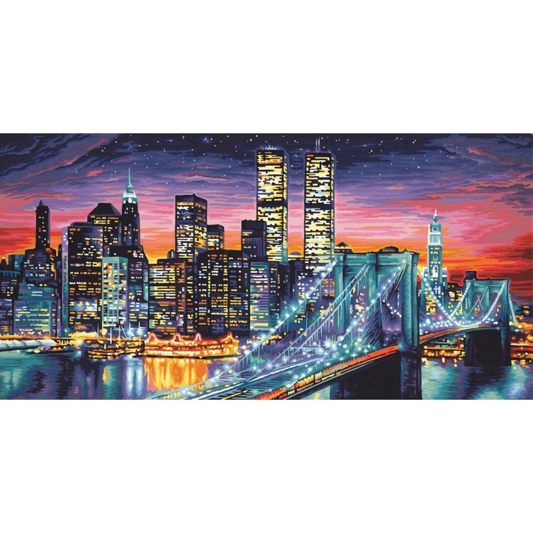 Manhattan bei Nacht Schipper Malen nach Zahlen, 42,49 €