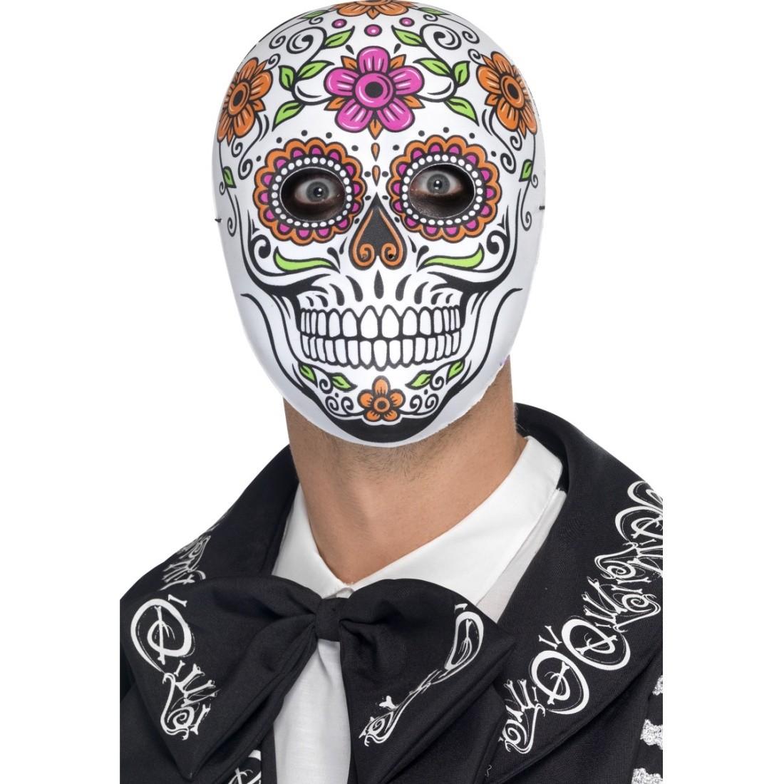 Mexikanische totenmaske totenkopfmaske la catrina 12 95 - Mexikanische totenmaske name ...