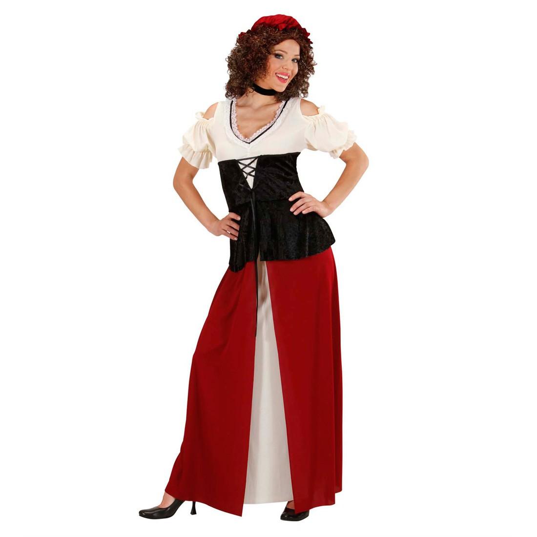Größe: XL: Böser Wolf Kostüm Rotkäppchen Omakostüm - Damen Barock ...