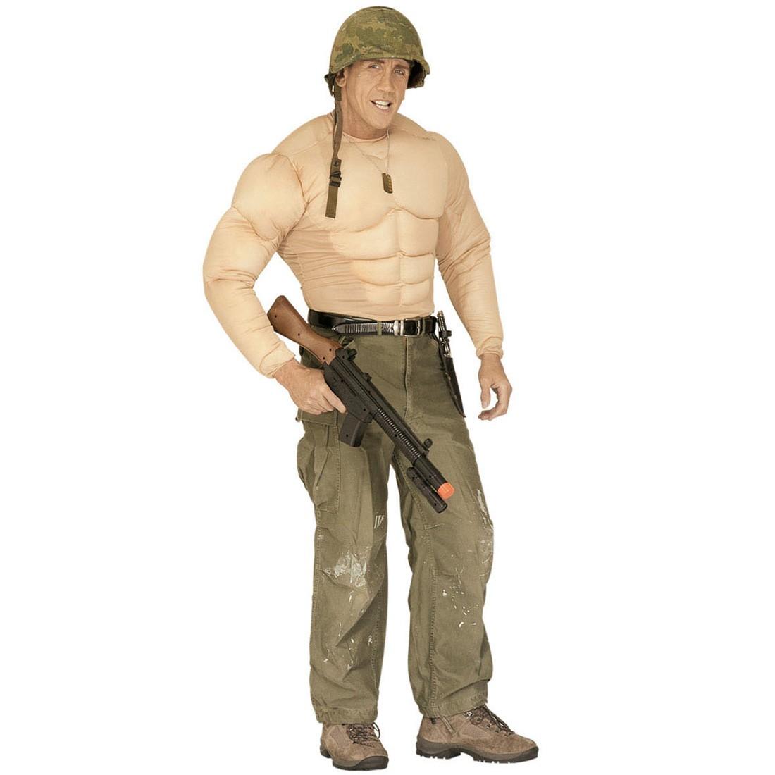 Muskel Kostüm Bodybuilder Muskelshirt Kostüme Gr XL, 23,99 €