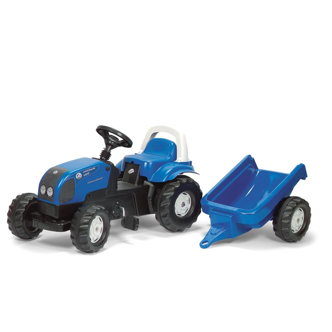 rolly toys trecker f r kinder mit anh nger rollykid 99 99. Black Bedroom Furniture Sets. Home Design Ideas