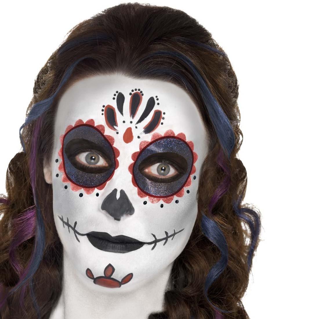 Smiffys: pierrot zombie kostüm damen clownskostüm l 44/46   pimp ...