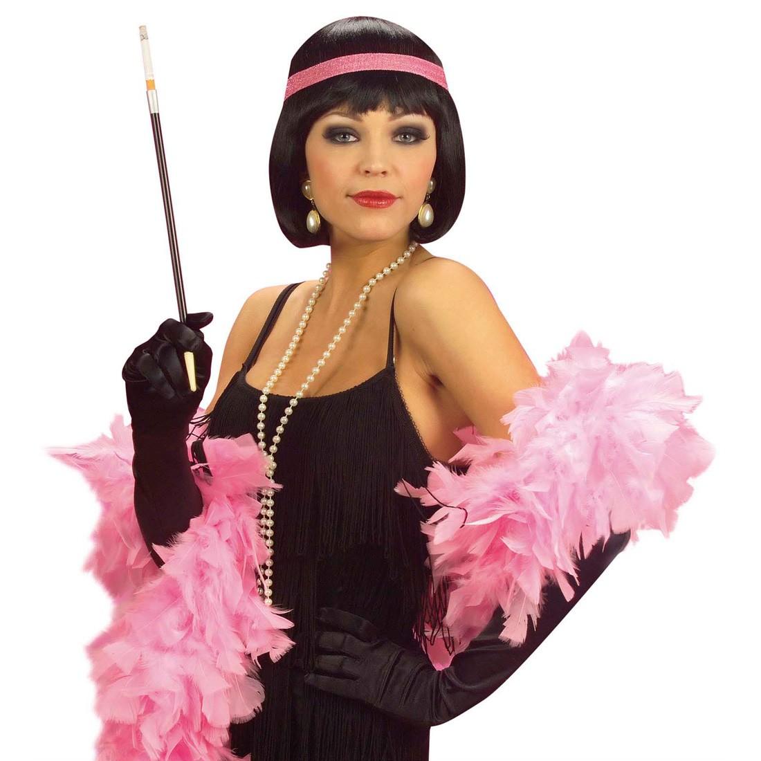 Damen faschingsper cke schwarz charleston per cke karnevalsper cke 14 99 - Schwarze jeansjacke damen ...
