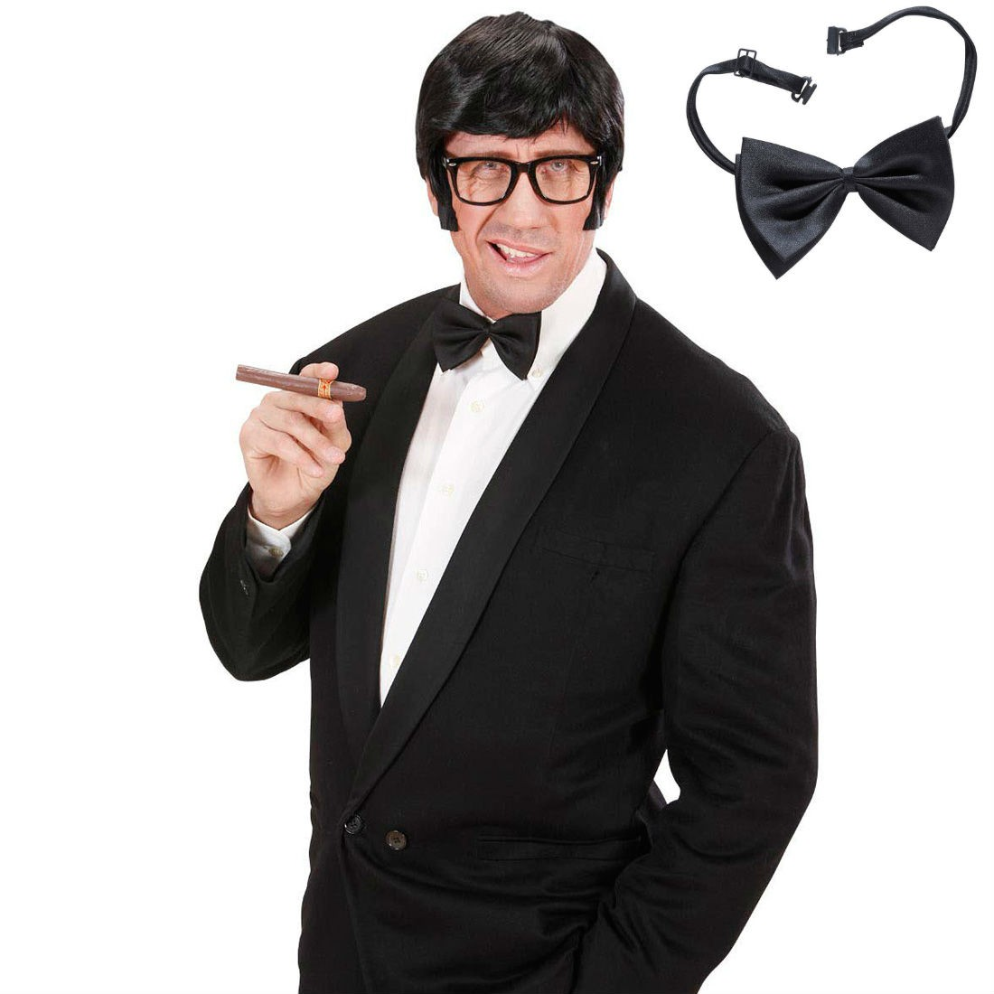 tragen schwarze krawatte