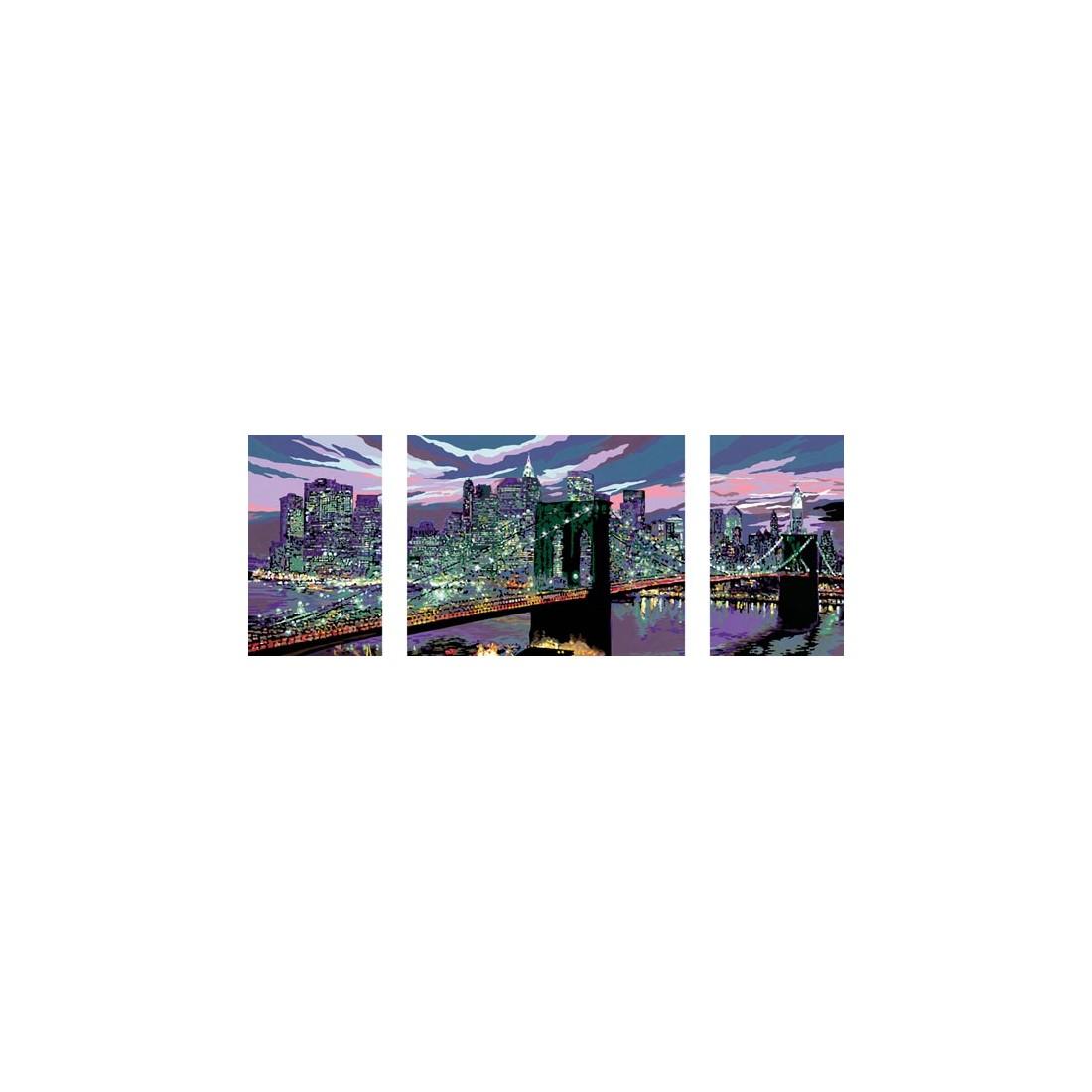 Skyline Von New York Malen Nach Zahlen Amerika 4199