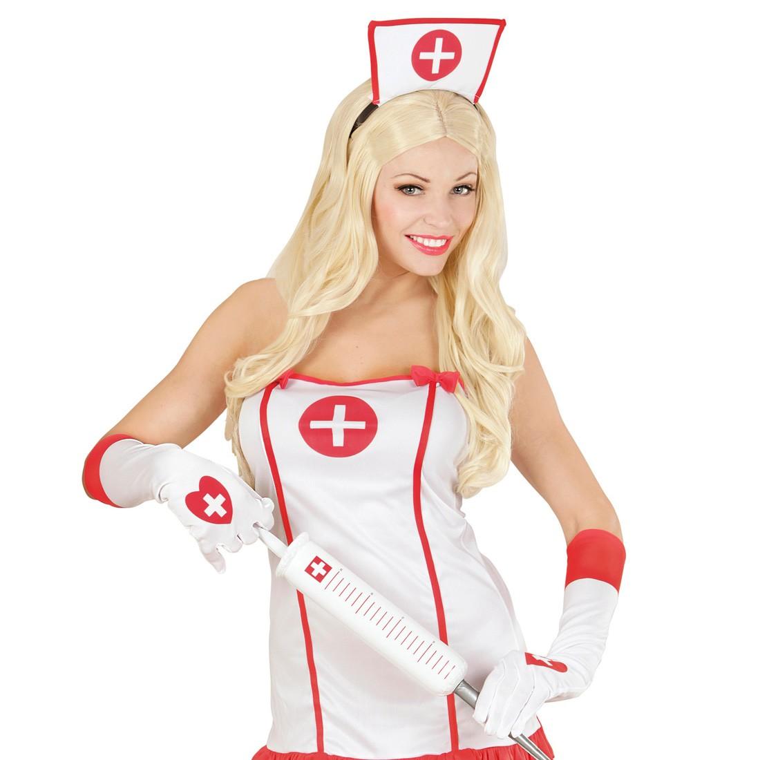 wei e damen handschuhe krankenschwester sexy damenhandschuhe lange fingerha 4 99. Black Bedroom Furniture Sets. Home Design Ideas