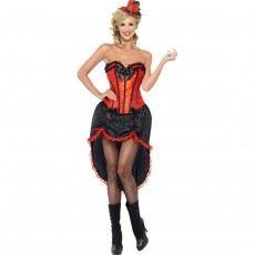 Burlesque Outfit Can Can Kostüm