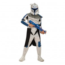 Clone Trooper Kostüm Kinder Star Wars M 5-6 Jahre