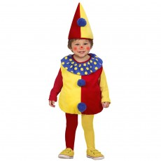 Clownkostüm Kinder Clown Kostüm 90-104 cm 1-3...