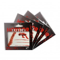 Halloween Tattoos Horror Tattoo Set