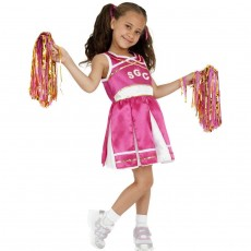 Kinder Cheerleader Kostüm Cheerleaderkostüm...