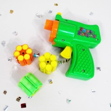 Konfetti Shooter mit Munition Konfettipistole