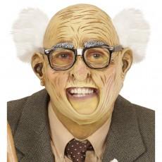 witzige opa maske mit schnauzbart hautfarben wei 17 99. Black Bedroom Furniture Sets. Home Design Ideas