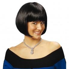 Charleston Perucke 20er Jahre Mode Frisur Schwarz 11 99