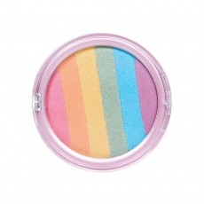 Regenbogen Puder Make Up Bunte Rainbow Schminke