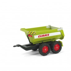 Rolly Toys Halfpipe Kipper-Anhänger - CLAAS in...