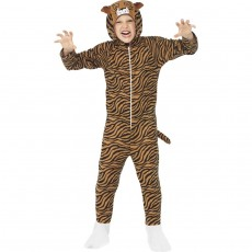 Tigerkostüm Kind Tiger Jumpsuit