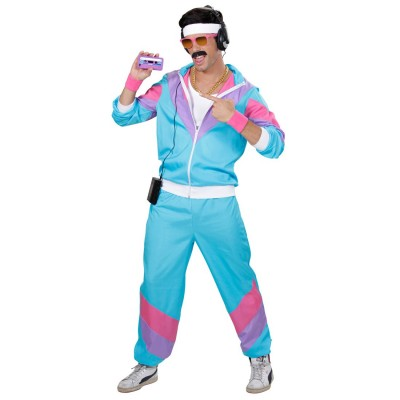 80er Jahre Sport Kostum Proll Trainingsanzug L 50 52 28 99